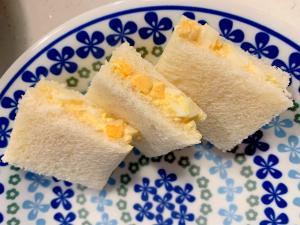 朝食に!卵サンド