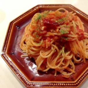 簡単&絶品!ベーコンのトマトソースパスタ