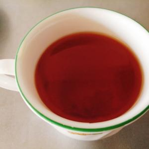 柚子入りの蜂蜜紅茶