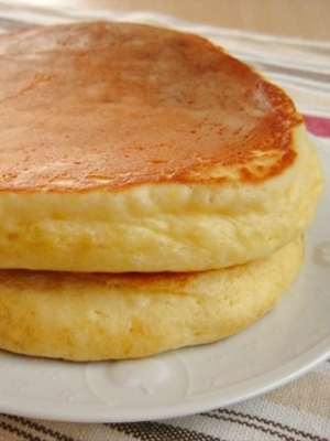 ホット ケーキ 小麦粉 から