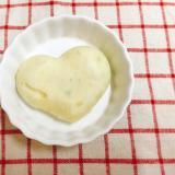 【離乳食後期】さつまいもと枝豆の蒸しパン