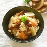 干し椎茸とあさりしぐれ煮と筍炊きこみ御飯♡