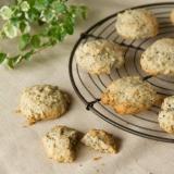黒ごまクッキー / Sesame Cookies