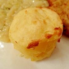 表面カリっのマッシュポテトのチーズ焼き