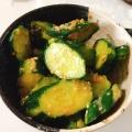 胡瓜の酢味噌和え