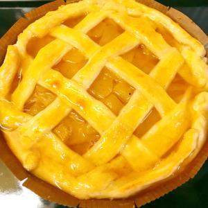 意外と簡単お菓子★らぽっぽ風さつまいもアップルパイ