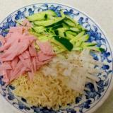インスタント塩つけ麺(冷やし)
