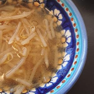 中華もやしスープ