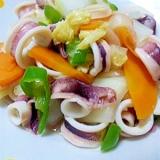 超簡単☆いかと白菜の炒め物