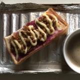 きんぴら納豆ブルーベリーマヨパン
