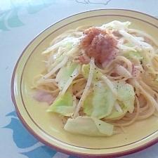 和風!梅マヨパスタ++