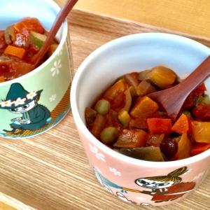 トマト缶で⋆ミネストローネ