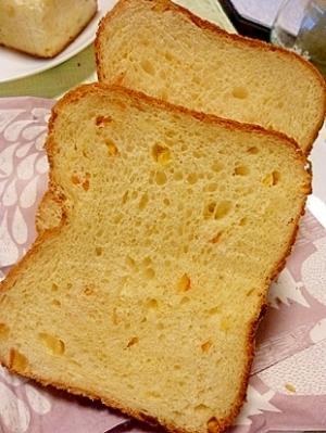 オレンジ食パン(ホームベーカリー)