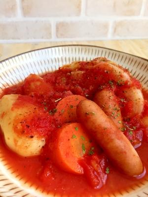 ホクホク〜♪温まる野菜ポトフ♡トマト味
