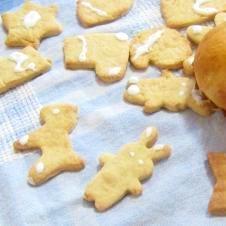 こどもといっしょに(*^^*)クリスマスクッキー☆