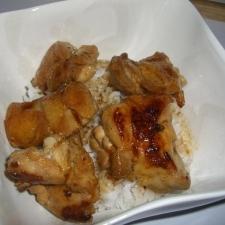 鶏の味噌照り焼き丼★
