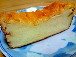 ヨーグルトで簡単チーズケーキ風