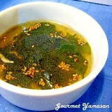 韓国風☆簡単わかめスープ