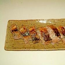 焼きさばの簡単!押し寿司!