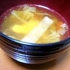 温まる~キムチスープ♪