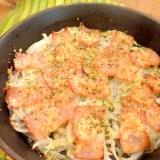簡単1品♪玉葱とベーコンのチーズ焼き