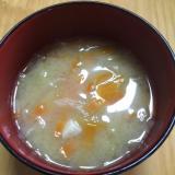 時短夕食に!栄養満点味噌汁