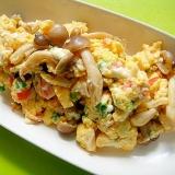 豆腐入り和風炒り卵