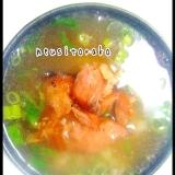 中華風鮭茶漬け