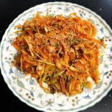 韓国料理!つぶ貝の和え物♡~골뱅이무침~