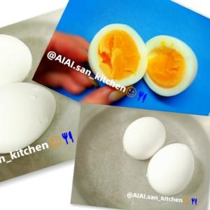 【ゆで卵】お水から茹でる 簡単ゆで卵 ゆでたまご