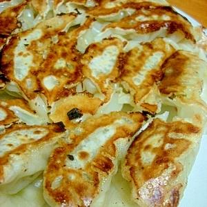 鶏挽き肉のヘルシー餃子