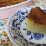 プロセスチーズとおからとヨーグルトのケーキ