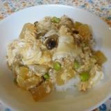 冬瓜と卵のあんかけご飯