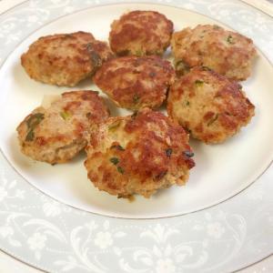 小松菜・玉ねぎのハンバーグ