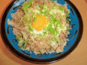 マヨ焼き納豆丼