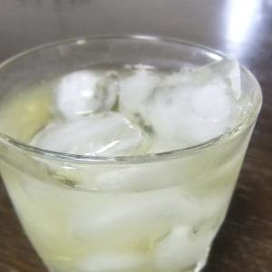 シュワシュワ美味しい★梅酒のジンジャー割