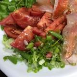 金目鯛のカルパッチョ