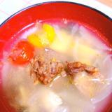 レバートマトスープ