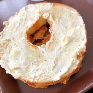 クリームチーズのベーグル☆彡