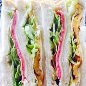 忙しく朝でもOK!サンドイッチ