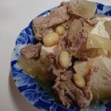 豆たくさん!肉豆腐*