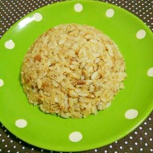 サバ味噌焼き飯