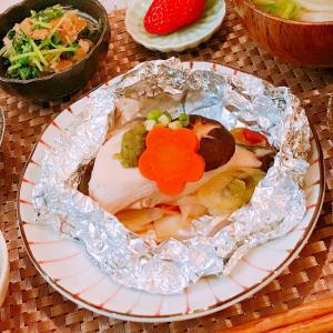 ピリ辛美味しい♪鰤の柚子胡椒ホイル焼き