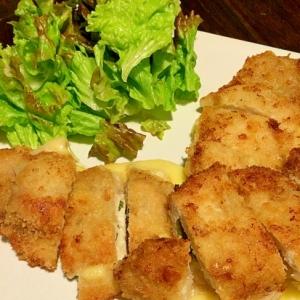 とろ〜り☆チーズと大葉のトンカツ
