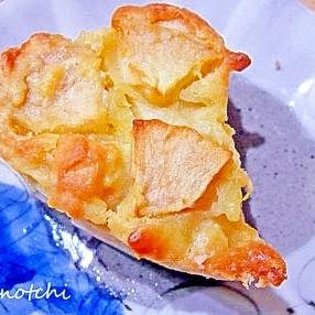 りんごたっぷり簡単焼きっぱなしケーキ
