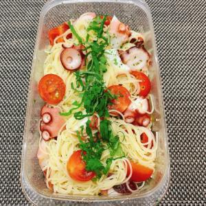 【つくおき】たことトマトのカッペリーニサラダ