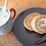 香りも美味しい☆紅茶のロールケーキ♪