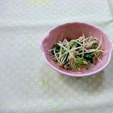 かいわれ大根とツナのサラダ