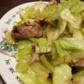キャベツと豚肉炒め(お弁当用)
