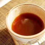 風邪引きには♪ 金時生姜湯で甘いコーヒー